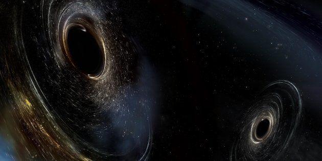 Ce célèbre physicien pense avoir trouvé la preuve d'un ancien univers dans un fantôme de trou noir (photo
