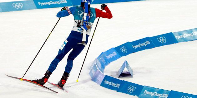 Martin Fourcade égale Jean-Claude Killy en remportant la poursuite aux JO d'hiver