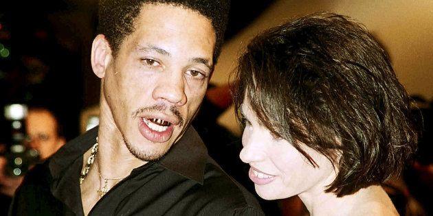 JoeyStarr et Béatrice Dalle au festival de Cannes en