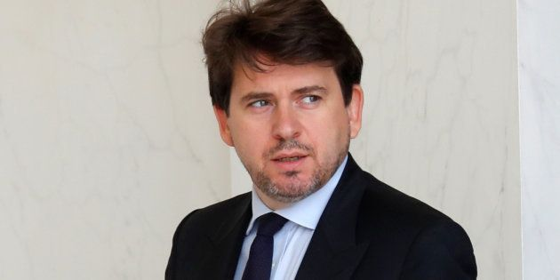 Sylvain Fort, ici à l'Elysée le 28 juin 2017, va quitter ses fonctions auprès du président de la