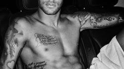 Neymar pose nu pour le photographe Mario