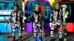Difficile de rater les skieurs alpins mexicains aux JO de