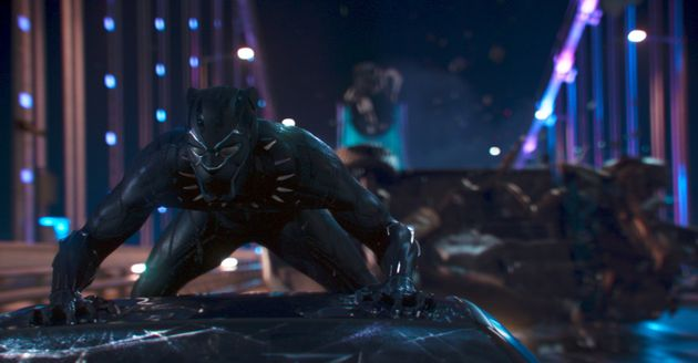 Marvel Studios' BLACK PANTHER..Black Panther/T'Challa (Chadwick Boseman)..Ph: Film Frame..©Marvel Studios