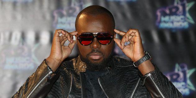 Maître Gims à Cannes le 12 novembre
