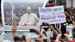 En Irlande, le pape François a rencontré des victimes des abus sexuels au sein de