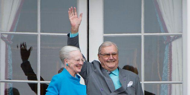 Le prince Henrik du Danemark, époux de la reine
