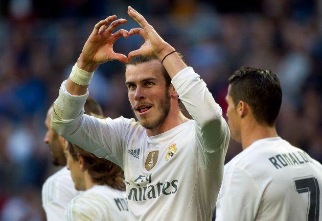 Gareth Bale, ce romantique.
