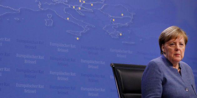 Cyberattaque en Allemagne, des données de Merkel et de centaines de politiques divulguées (Photo prise...