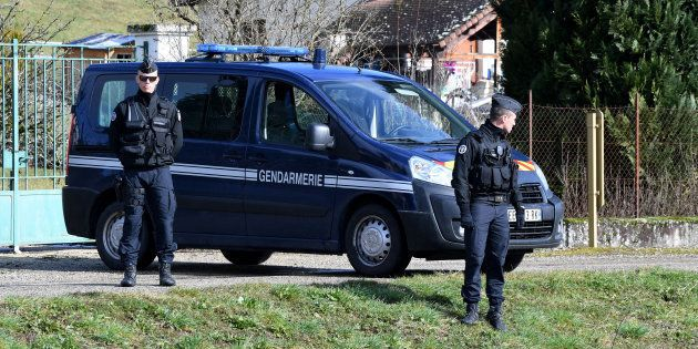 À Domessin en Savoie, à proximité de la résidence de Nordahl Lelandais et de ses parents. Il a été conduit...