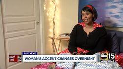 Cette Américaine s'est réveillée avec un accent britannique (et il y a une explication