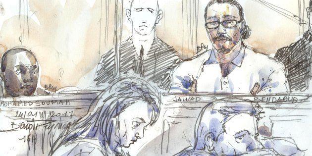 L'avocat de Jawad Bendaoud (ici dessiné lors de son procès le 24