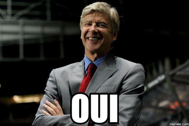Arsène Wenger, le 23
