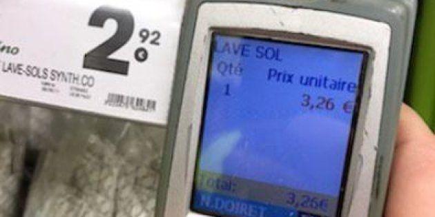 Des gilets jaunes découvrent des écarts de prix dans un