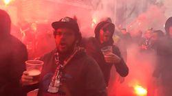 Sur la route de Bernabéu, les supporters parisiens sont chauds, chauds,
