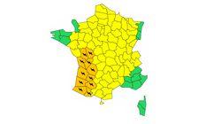11 départements du sud-ouest en vigilance orange aux