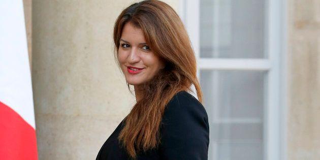 Marlène Schiappa, ici le 17 octobre à l'Élysée, a réagi aux résultats de la consultation lancée par le