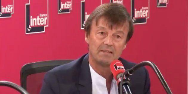 Nicolas Hulot n'a prévenu ni Macron ni Philippe de sa
