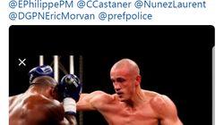 Qui est l'ancien champion de boxe filmé frappant des gendarmes pendant l'acte 8 des gilets
