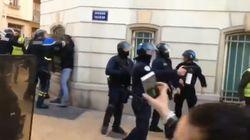 Ce policier filmé à Toulon frappant des manifestants venait de recevoir la Légion