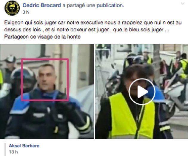 La vidéo de ce policier qui frappe un manifestant