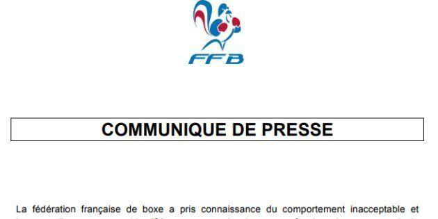 Christophe Dettinger identifié, la Fédération française de boxe fustige son