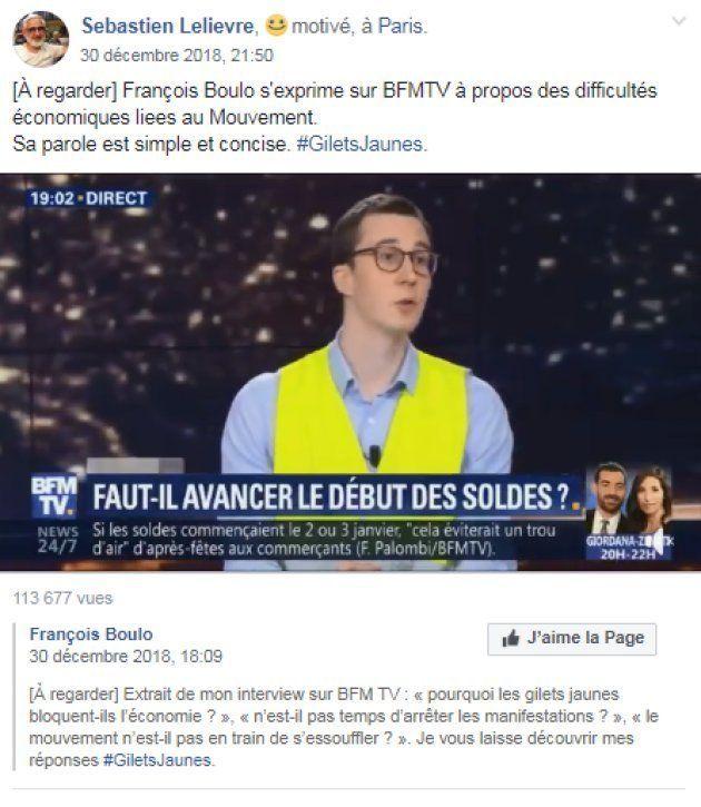 François Boulo séduit les gilets