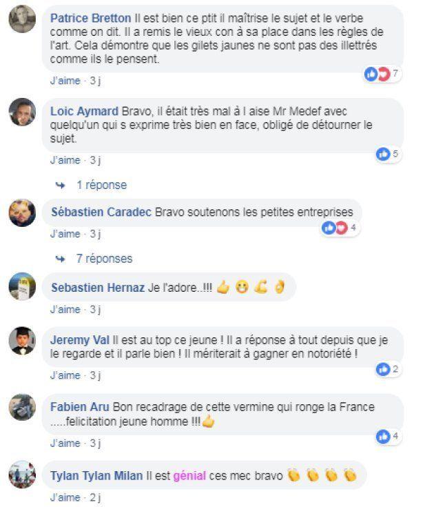 Les réactions sont unanimes aux propos de François