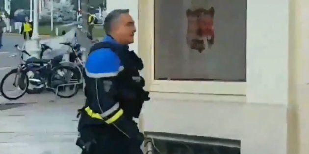 Didier Andrieux, policier filmé frappant des manifestants, avait déjà été sanctionné pour des