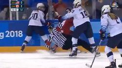 Qui a dit que le hockey féminin n'était pas