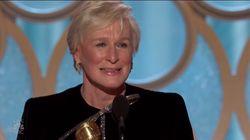 Glenn Close fait lever tout le public des Golden Globes avec son