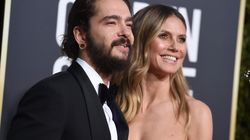 Heidi Klum et Tom Kaulitz très amoureux aux Golden