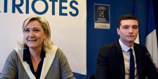 Marine Le Pen a choisi Jordan Bardella, 23 ans, pour diriger la campagne des européennes pour le Rassemblement