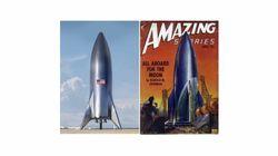 La fusée géante d'Elon Musk fleure bon les années