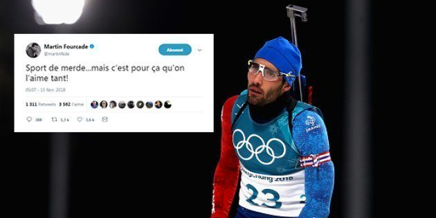 La réaction de Martin Fourcade aux Jeux olympiques d'hiver 2018 après cet échec dit tout de sa
