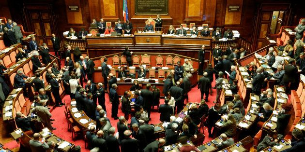 Le Sénat à Rome, en décembre