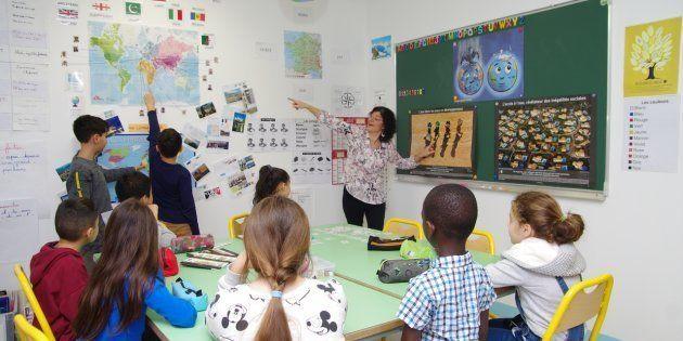 J'ai dû développer des stratégies pour m'adapter et prodiguer un enseignement efficace à ces élèves sourds.