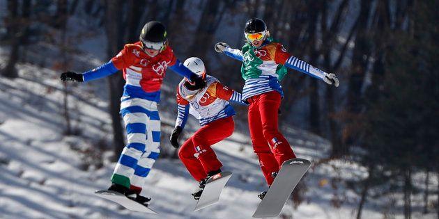 Jeux olympiques d'hiver 2018: Julia Pereira de Sousa en argent à 16 ans sur le snowboardcross, 7e médaille