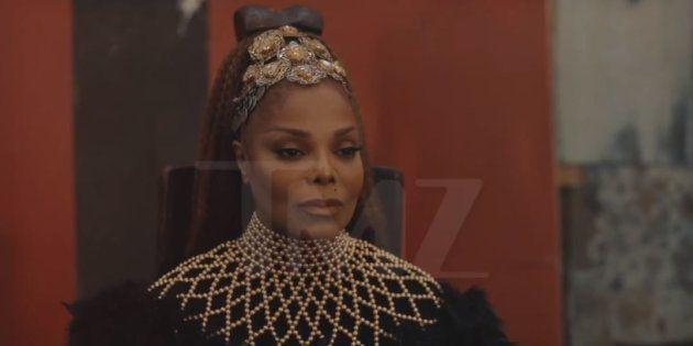 Janet Jackson dans un clip spécial de sa
