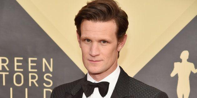 L'acteur Matt Smith assiste à la 24e édition annuelle des Screen Actors Guild Awards au Shrine Auditorium...