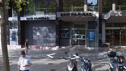 Braquage raté d'une banque BNP près de l'Arc de triomphe, l'auteur blessé et