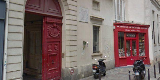 Françoise Nyssen: les bureaux parisiens d'Actes Sud visités par la