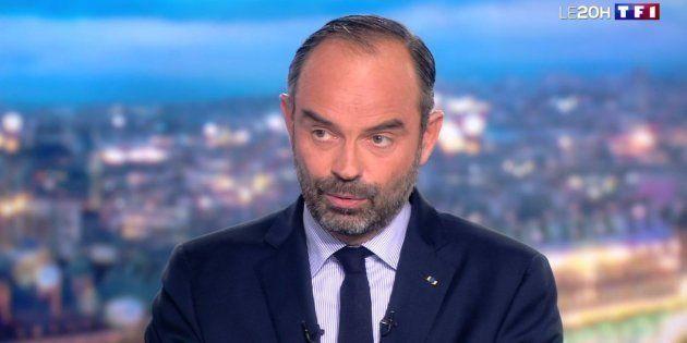 Édouard Philippe au journal de 20-Heures sur TF1 le 7 janvier