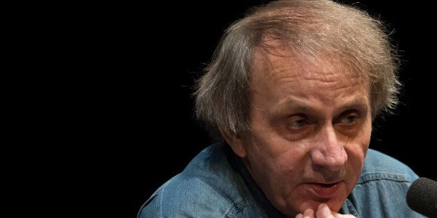 Michel Houellebecq a Fancfort en octobre