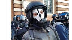 Enquête ouverte à Toulouse sur ce policier qui portait un masque tête de mort pendant l'acte