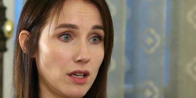L'actrice Sand Van Roy témoigne pour la première fois à visage découvert sur