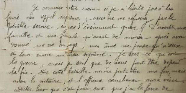 Lettre d'un poilu, Jean Soulagnes, à son ami Jean Audiffren, le 27 mai