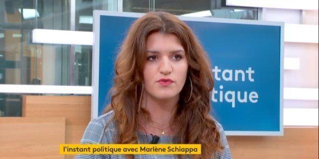 La secrétaire d'Etat Marlène Schiappa a demandé à connaître les noms des participants à la cagnotte de...