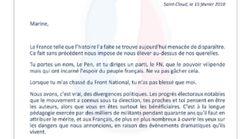 La lettre-ultimatum de Jean-Marie Le Pen à sa fille pour éviter