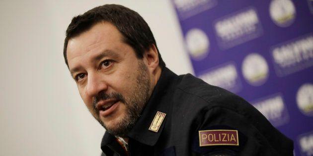 Le ministre de l'Intérieur Matteo Salvini le 19 décembre à