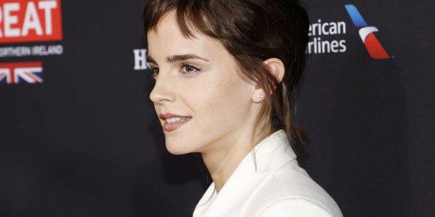 Avant des Bafta Awards engagés contre les abus sexuels, Emma Watson (ici à Los Angeles le 6 janvier)...